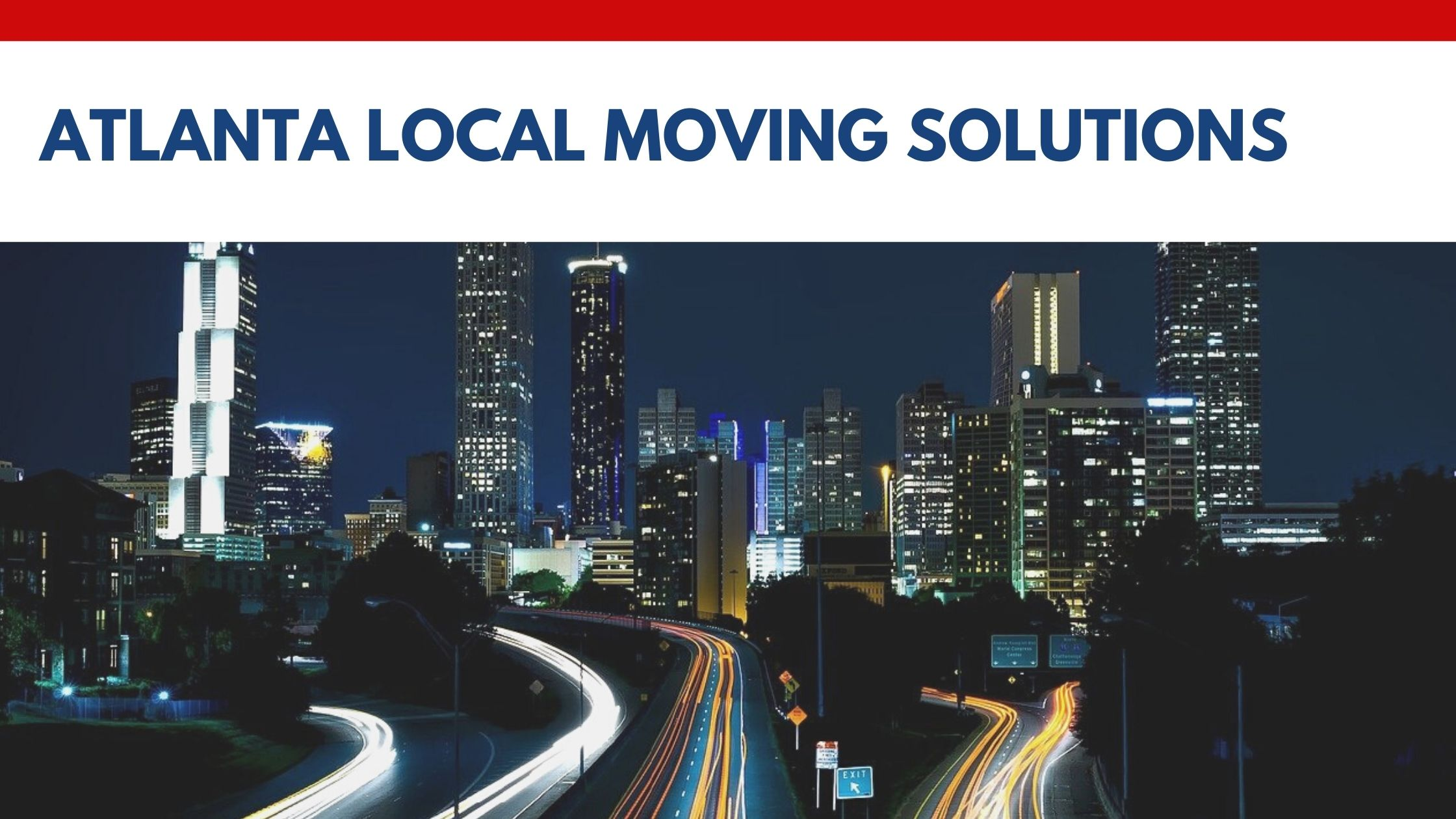 Atlanta Local Moving Solutions