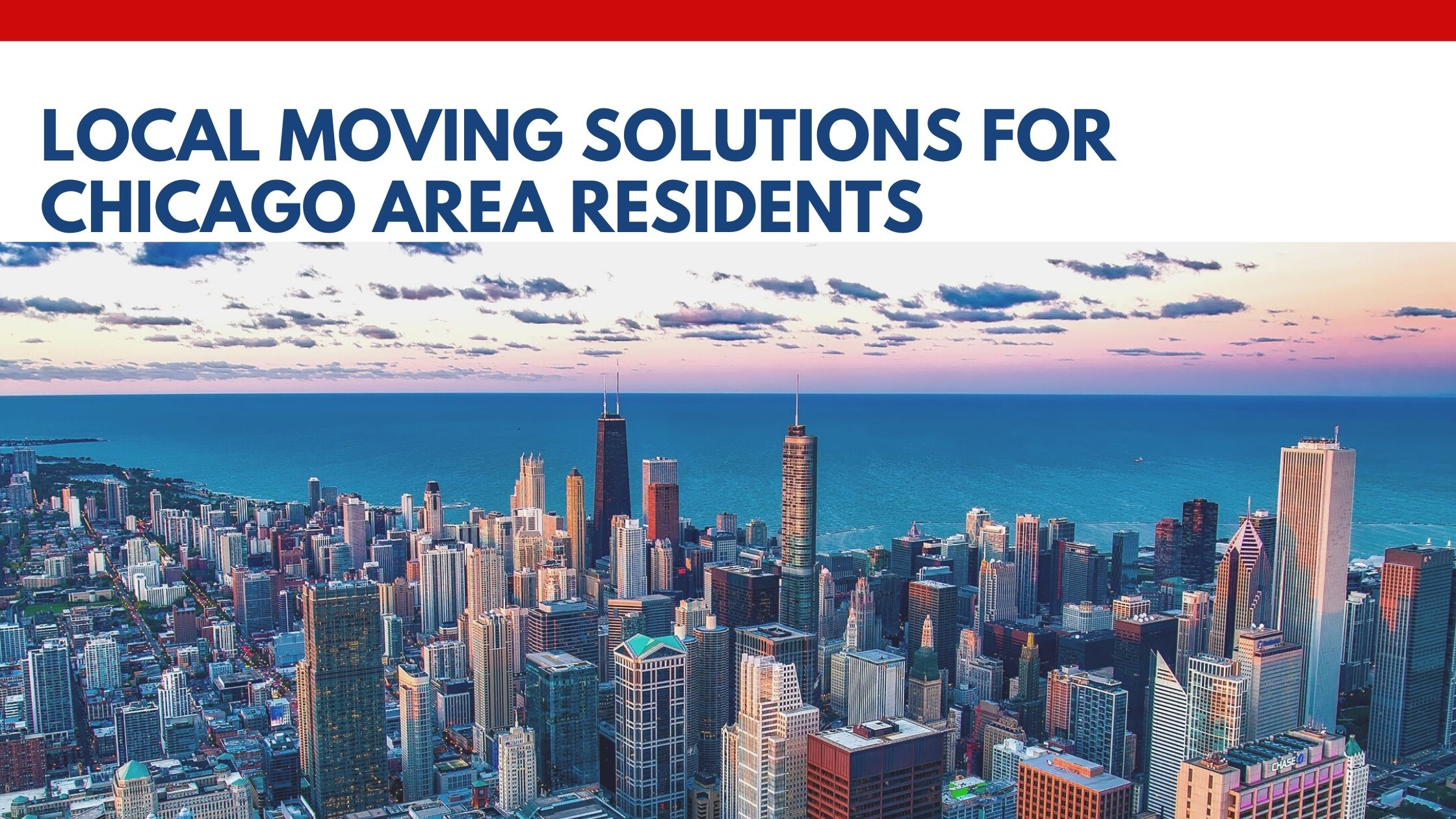 Local Moving Solutions for Chicago Area Residents