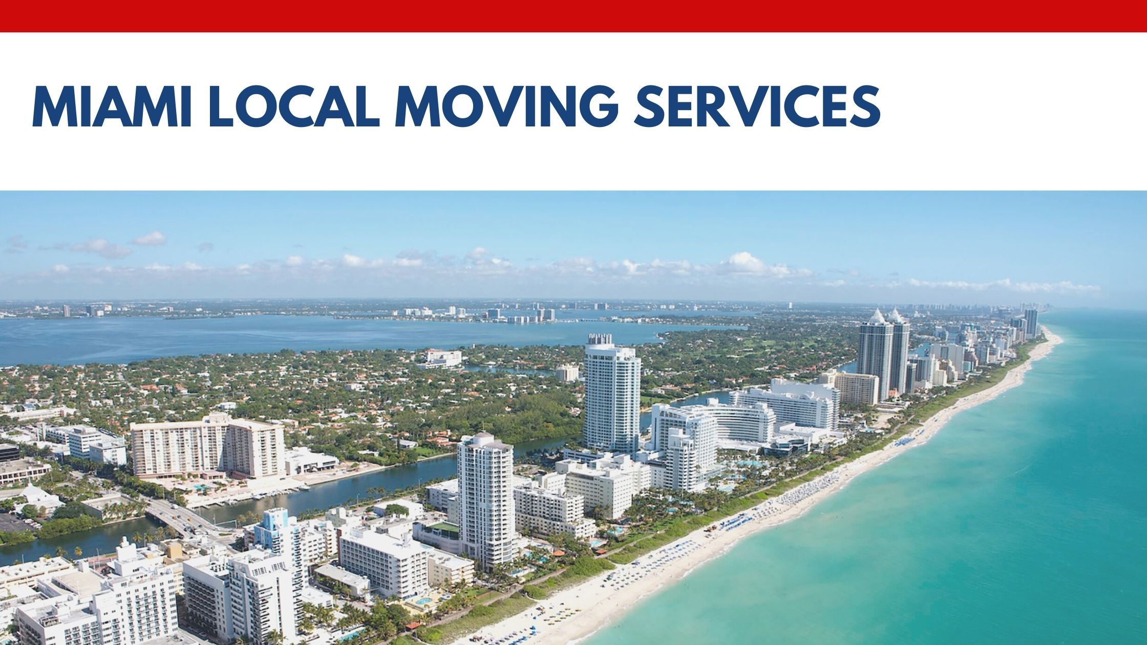 Miami Local Moving Services